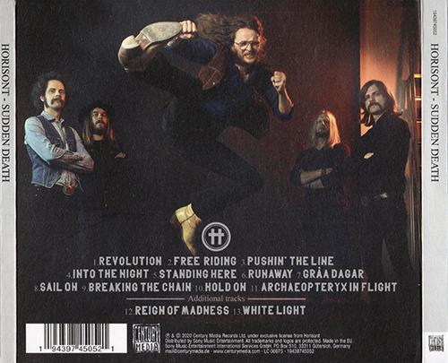 Horisont - Sudden Death (Limited Edition) (2020)