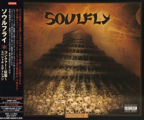 Soulfly - Соnquеr [Jараnеsе Еditiоn] (2008)