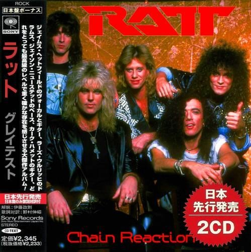 Ratt - CHAIN REACTION (Japan Edition, 2CD) (2020) (Compilation)