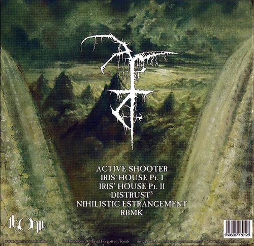Forgotten Tomb - Nihilistic Estrangement (Limited Edition) (2020)