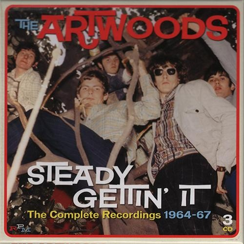 The Artwoods - Steady Gettin' It. The Complete Recordings 1964-67 (3 CD) (2014)