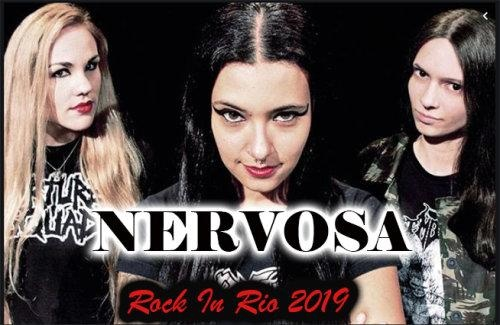 Nervosa - Rock in Rio (2019)