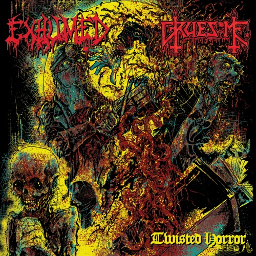 Exhumed & Gruesome - Twisted Horror (EP) (2020)