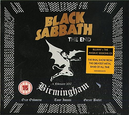 Black Sabbath - The End: Live In Birmingham (2017) (BDRip, 1080p)