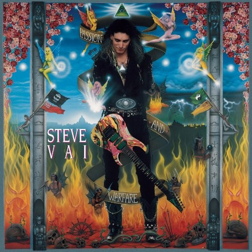 Steve Vai - Passion and Warfare [Reissue 1997] (1990)