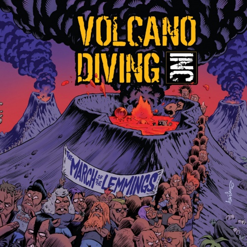 Volcano Diving Inc - The March of the Lemmings (2020)