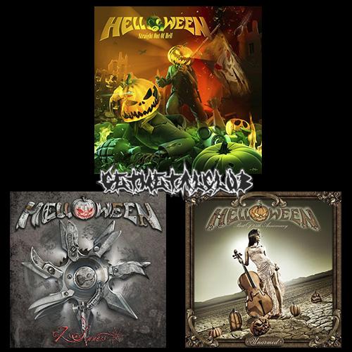 Helloween - 3CD Remastered (2020) + Hi-Res