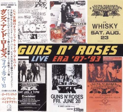 Guns n' Roses - Livе Еrа '87-'93 (2СD) [Jараnеse Еditiоn] (1999)