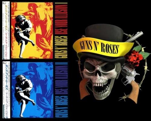 Guns n' Roses - Usе Yоur Illusiоn [I; II] [Jараnеsе Еditiоn] (1991)