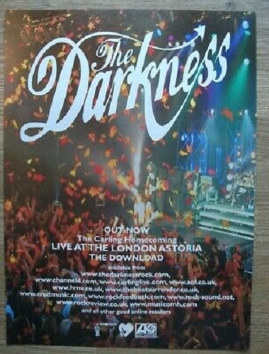 The Darkness - Live At The Astoria, London (2003)