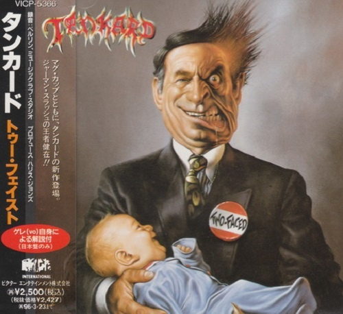 Tankard - Two-Faced (Japan Edition) (1994)