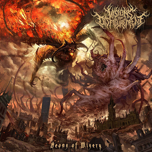 Visions of Disfigurement - Aeons of Misery (2020)