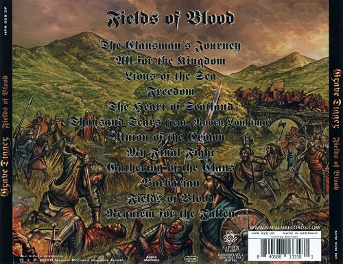Grave Digger - Fields of Blood (2020)