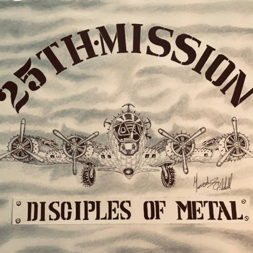 25Th Mission - Disciples Of Metal (2020)