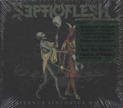 Septicflesh - Infernus Sinfonica MMXIX (Digipack) (2020) + Blu-ray