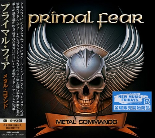 Primal Fear - Metal Commando (2CD) [Japanese Edition] (2020)