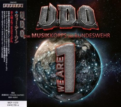 U.D.O. & Das Musikkorps Der Bundeswehr - We Are One (Japanese Edition) (2020)