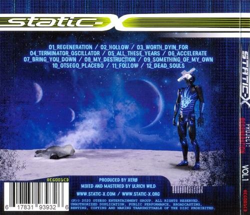 Static-X - Project Regeneration, Vol. 1 (2020)