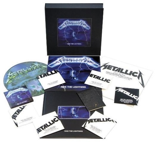 Metallica - Ride The Lightning - Remastered Deluxe Box Set (2016)