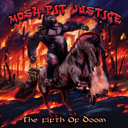 Mosh-Pit Justice - The Fifth of Doom (2020)