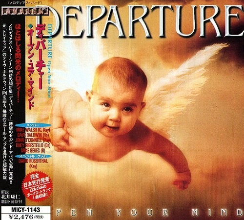 Departure - Open Your Mind (Japan Edition) (1999)