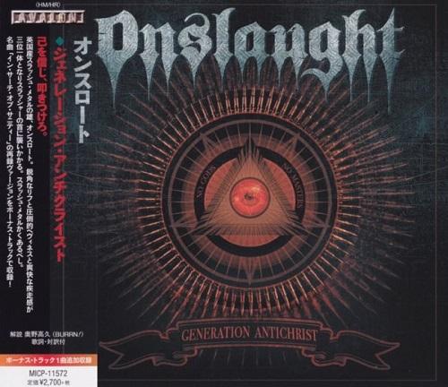 Onslaught - Generation Antichrist (Japanese Edition) (2020)