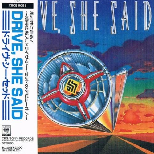 Drive, She Said - Drive, She Said (Japan Edition) (1990)