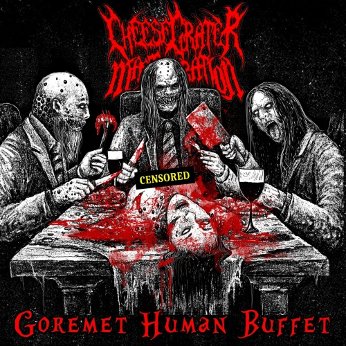 Cheese Grater Masturbation - Goremet Human Buffet (2020)