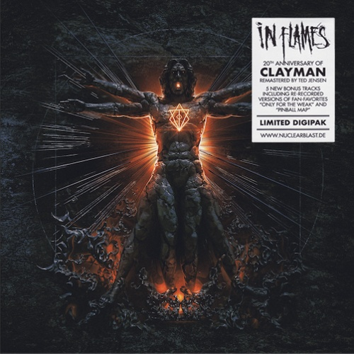 In Flames - Clayman Clayman (20Th Anniversary Digipak Ed.) (Remastered 2020)