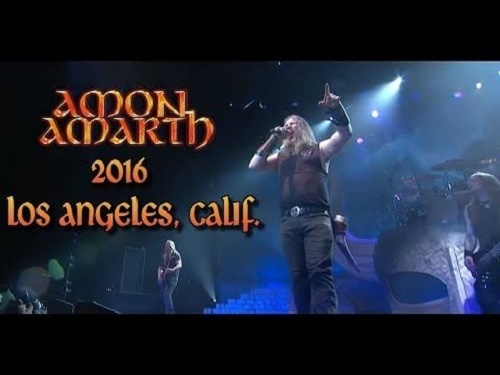 Amon Amarth - Los Angeles, CA, USA 2016
