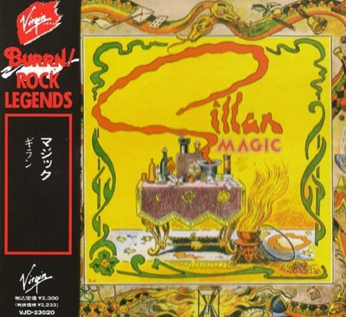 Gillan - Magic (Japan Edition) (1989)