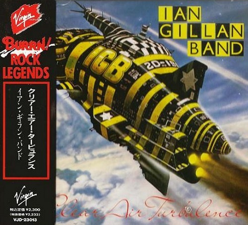 Ian Gillan Band - Clear Air Turbulence (Japan Edition) (1989)