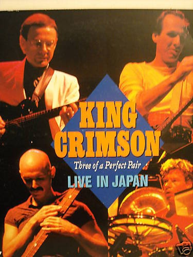 King Crimson - Three Of A Perfect Pair. Live in Japan 1984