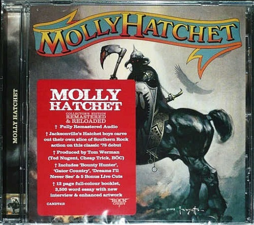 MOLLY HATCHET – Molly Hatchet +5 [Rock Candy remastered & reloaded] (2020)
