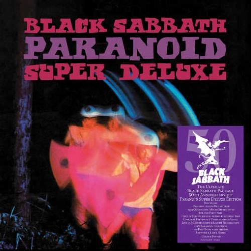 BLACK SABBATH – Paranoid [50th Anniversary Deluxe Edition Box Set] (2020)