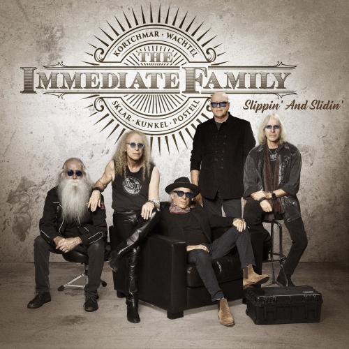 The Immediate Family - Slippin' and Slidin' (EP) (2020)