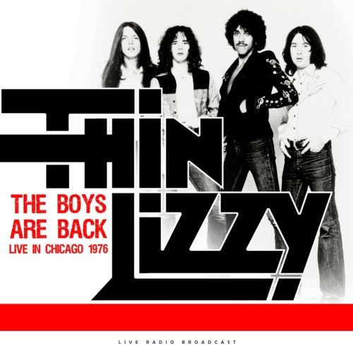 Thin Lizzy – The Boys Are Back Live in Chicago (1976/2020)