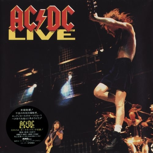 AC/DC - Livе (2СD) [Jараnese Еditiоn] (1992)