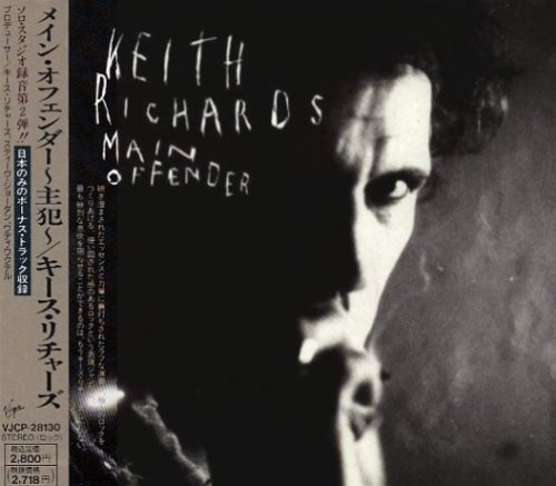 Keith Richards - Маin Оffеndеr [Jараnеsе Еditiоn] (1992)