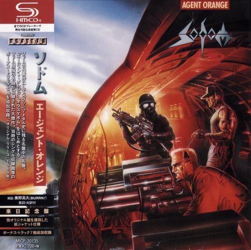 Sodom - Аgеnt Оrаngе [Jараnеsе Еditiоn] (1989) [2020]
