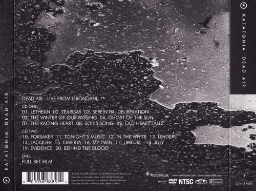 Katatonia - Dead Air (2020) + Hi-Res + DVD