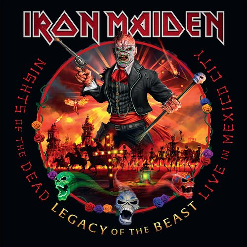 Iron Maiden - Nights of the Dead, Legacy of the Beast: Live in Mexico City (2020) + Hi-Res