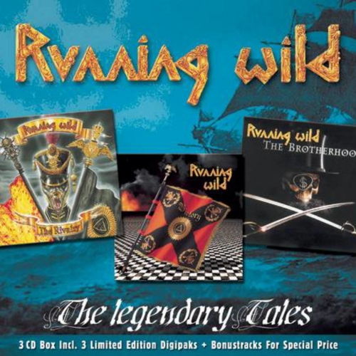 Running Wild - The Legendary Tales [3CD] (2002)
