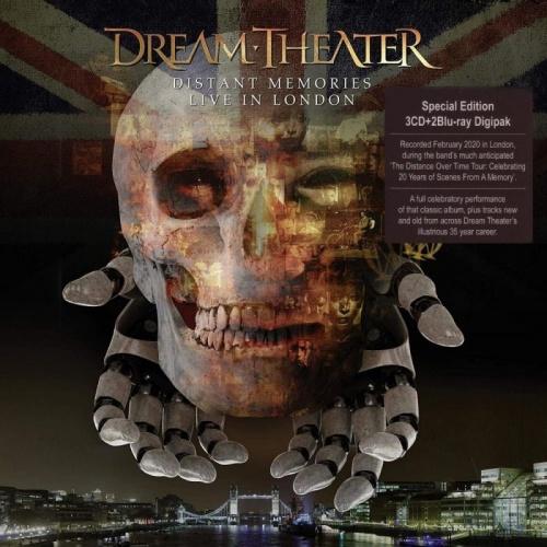 Dream Theater - Distant Memories - Live in London (3CD) (2020) + Hi-Res + 1080p + Blu-Ray