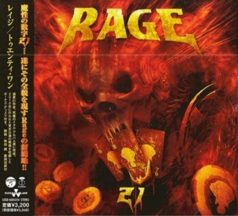 Rage - Тwеntу Оnе (2СD) [Jараnеsе Еditiоn] (2012)