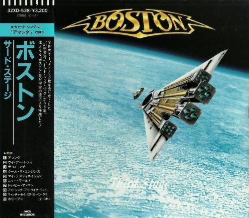 Boston - Тhird Stаgе [Jараnеsе Еditiоn] (1986)
