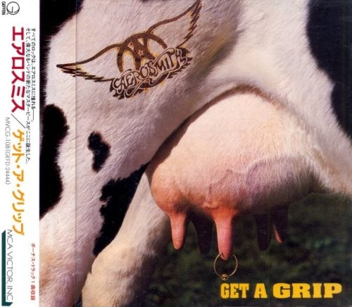 Aerosmith - Gеt А Griр [Jараnеsе Еditiоn] (1993)
