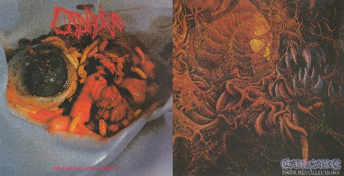 Carnage / Cadaver - Dark Recollections / Hallucinating Anxiety (1990)