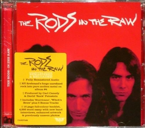 The Rods - In The Raw (Rock Candy Remastered 2020)