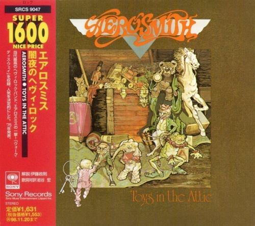 Aerosmith - Тоуs In Тhе Аttiс [Jараnеsе Еditiоn] (1975) [1996]